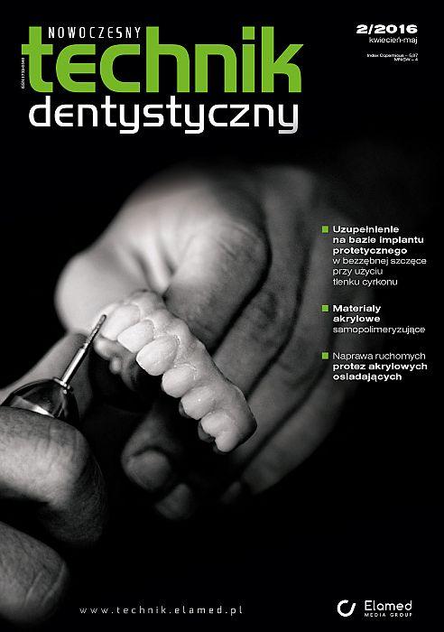 Nowoczesny Technik Dentystyczny wydanie nr 2/2016