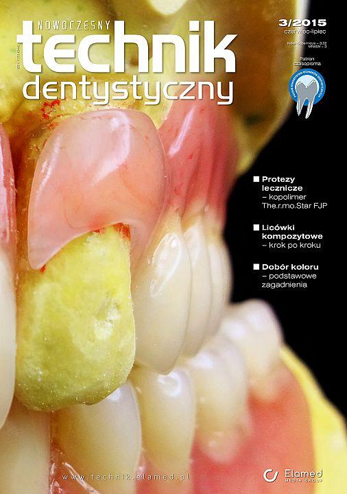 Nowoczesny Technik Dentystyczny wydanie nr 3/2015