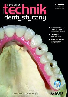 Nowoczesny Technik Dentystyczny wydanie nr 2/2019