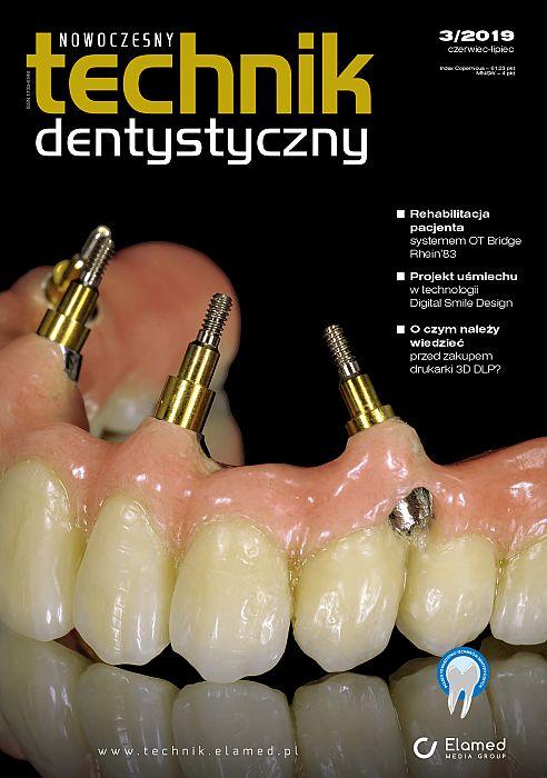 Nowoczesny Technik Dentystyczny wydanie nr 3/2019