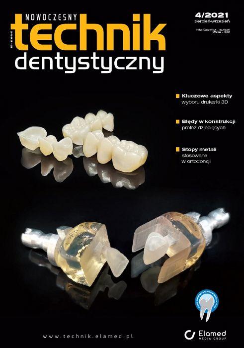 Nowoczesny Technik Dentystyczny wydanie nr 4/2021