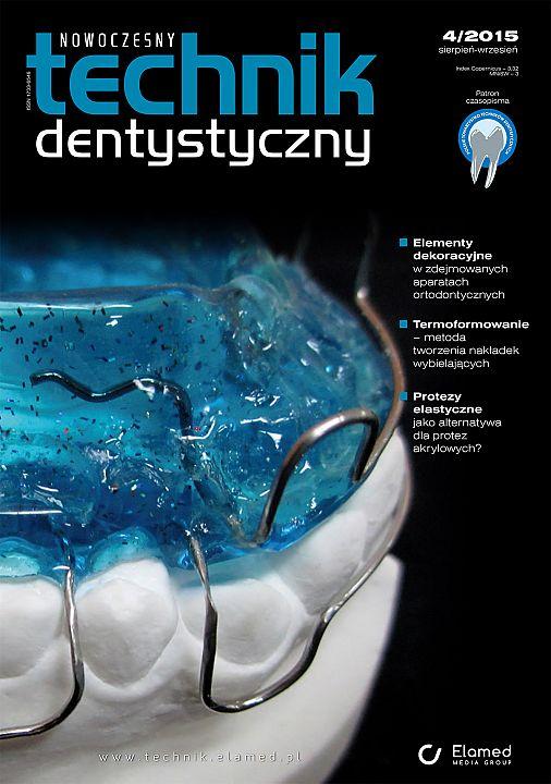 Nowoczesny Technik Dentystyczny wydanie nr 4/2015