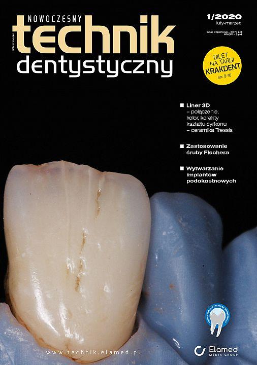 Nowoczesny Technik Dentystyczny wydanie nr 1/2020