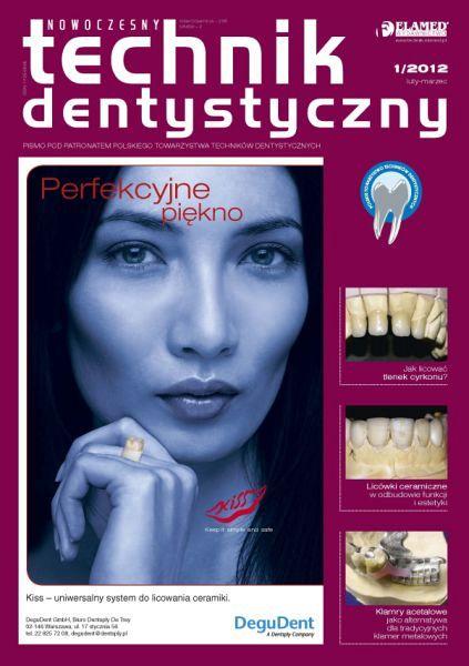 Nowoczesny Technik Dentystyczny wydanie nr 1/2012