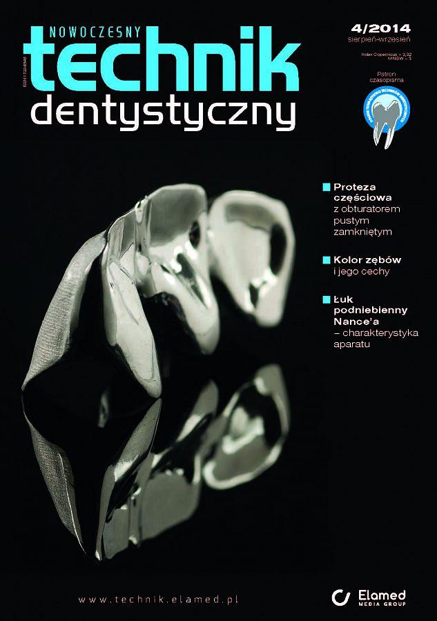 Nowoczesny Technik Dentystyczny wydanie nr 4/2014