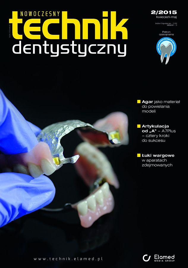 Nowoczesny Technik Dentystyczny wydanie nr 2/2015