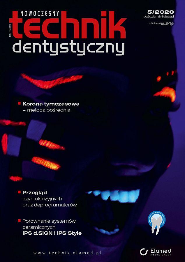 Nowoczesny Technik Dentystyczny wydanie nr 5/2020