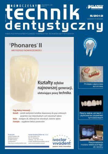 Nowoczesny Technik Dentystyczny wydanie nr 5/2012